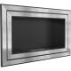 """Biocamino 110x65 cm da parete con vetro frontale modello """"Juliet 1100"""""""