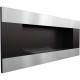 """Biocamino 90x40cm con vetro da parete modello """"Delta 2 Horizontal"""""""