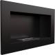 BIOCAMINO CAMINO A BIOETANOLO GOLF BLACK LUCIDO CON VETRO 648mm x 374mm