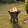 Pozzo del fuoco Mod.Stellar stufa camino camini giardino