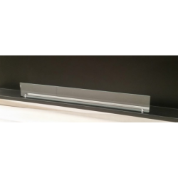Vetro frontale 70cm x 10 cm senza staffe