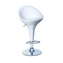 sgabello OSLO (XH105-1), bianco coppia di sgabelli design, stool.