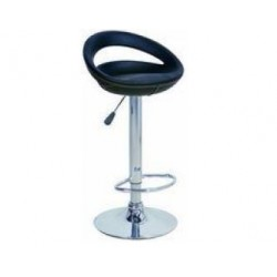 sgabello GINEVRA (XH123 P-2), coppia di sgabelli design, stool. nero