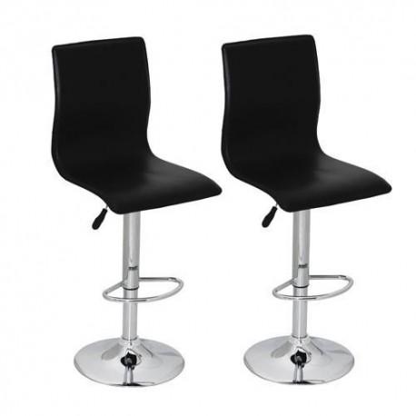 sgabello ZURIGO (XH-312), coppia di sgabelli design, stool x nero