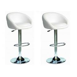 sgabello SOFIA (XH- 269), coppia di sgabelli design, stool.etan24 bianco