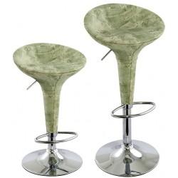 sgabello ATENE (XH101J), coppia di sgabelli design modello jeans verde