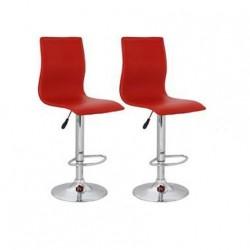 sgabello ZURIGO (XH-312), coppia di sgabelli design, stool color Vinaccia
