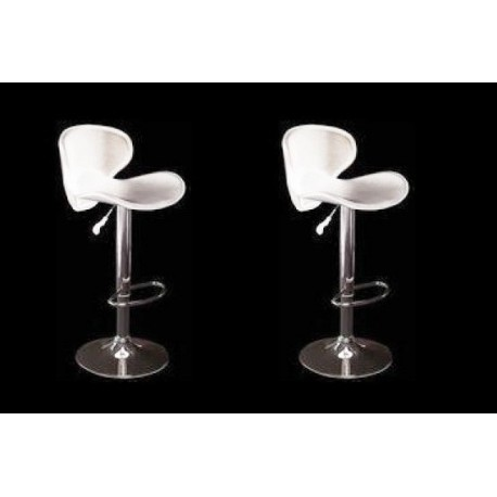 sgabello SAN DIEGO (XH-240-1), coppia di sgabelli design, stool. bianco
