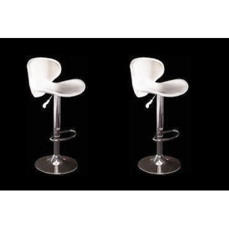sgabello SAN DIEGO (XH-240-1), coppia di sgabelli design, stool. bianco