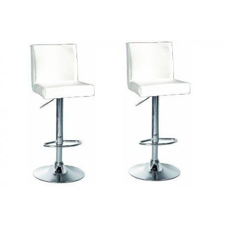 sgabello SAN PAOLO(XH615), coppia di sgabelli design, stool. bianco