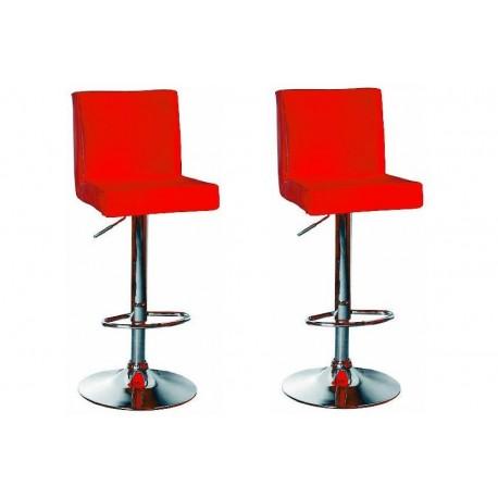sgabello SAN PAOLO(XH615), coppia di sgabelli design, stool. rosso