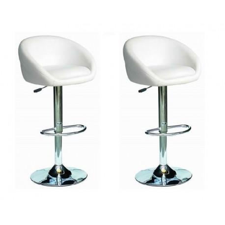 sgabello SOFIA (XH- 269), coppia di sgabelli design, stool bianco