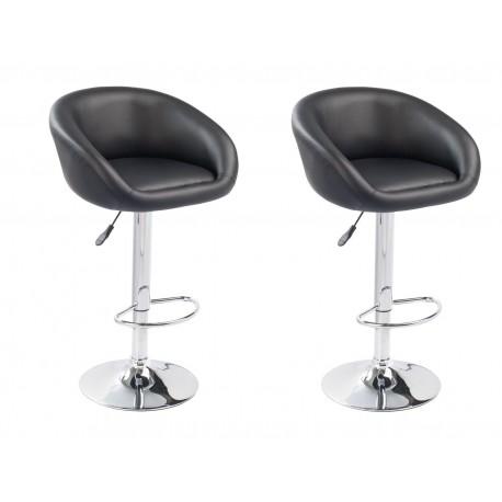 sgabello SOFIA (XH- 269), coppia di sgabelli design, stool nero