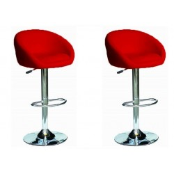 sgabello SOFIA (XH- 269), coppia di sgabelli design, stool. rosso