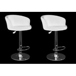 sgabello LION (XH-281), coppia di sgabelli design, stool. bianco