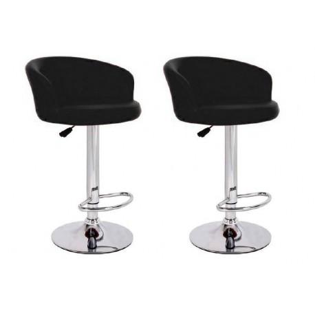 sgabello LION (XH-281), coppia di sgabelli design, stool. nero