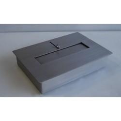 BRUCIATORE 3,0 lit professionale acciaio inox DF01 per biocamino