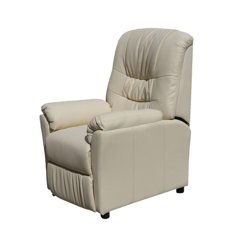 Poltrona massaggiante beje camilla sp952 poltrona relax for Poltrona massaggiante