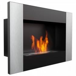 Biocamino 64x40 cm verticale con bruciatore da 0,5 litri senza vetro