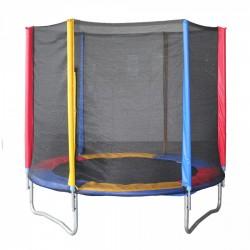Trampolino Tappeto Elastico per Bambini King Size Ø 182 cm