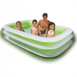 PISCINA -Intex Swim Center Family Pool