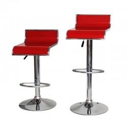 sgabello LISBONA (XH230-1), coppia di sgabelli design, stool. rosso