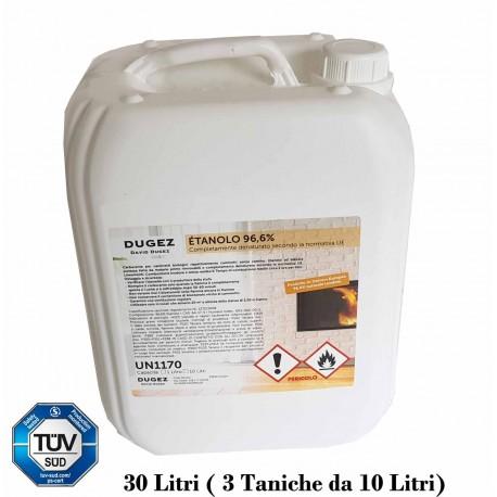 30 lit 3 x 10 Lit BIOETANOLO ETAN086 bio etanolo per biocamini