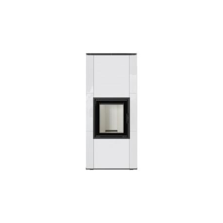Caminetto NADIA 8 piastrella bianca