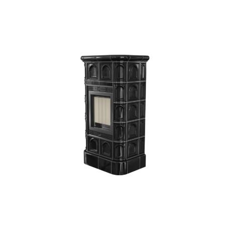 Caminetto BLANKA 8 piastrella nera