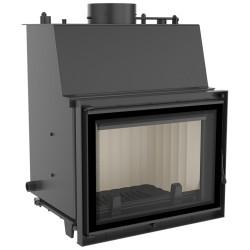 ZUZIA PW 15 DECO Inserto per caminetto con sistema idrico adattato per la