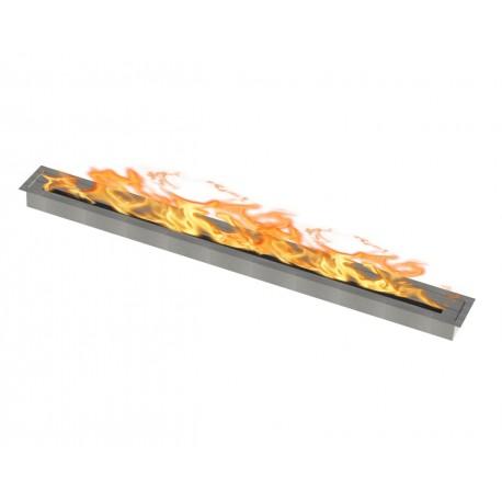Bruciatore per biocamino 150 cm x 10cm circa 18 kw