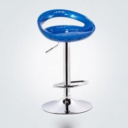 SGABELLO GINEVRA XH123 , COPPIA DI SGABELLI DESIGN, STOOL BLUE
