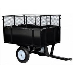 2xCarrelli giardino per trattori TC3080H rimorchio portata 350 kg.