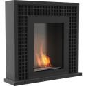 Biocamino mod JANUARY con Bruciatore / Nero