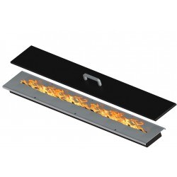 Bruciatore per biocamino 93 cm x 12 cm David 90